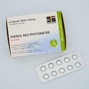 LOVIBOND – Phenol RED ( 1 Tablette )