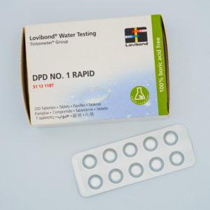 LOVIBOND – DPD N°1 Rapid ( 1 Tablette )