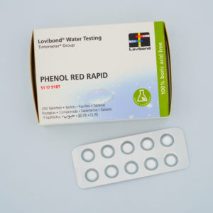 LOVIBOND – Phenol RED Rapid ( 1 Tablette )
