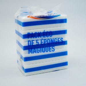 KERLIS – Pack Eco de 5 éponges magiques